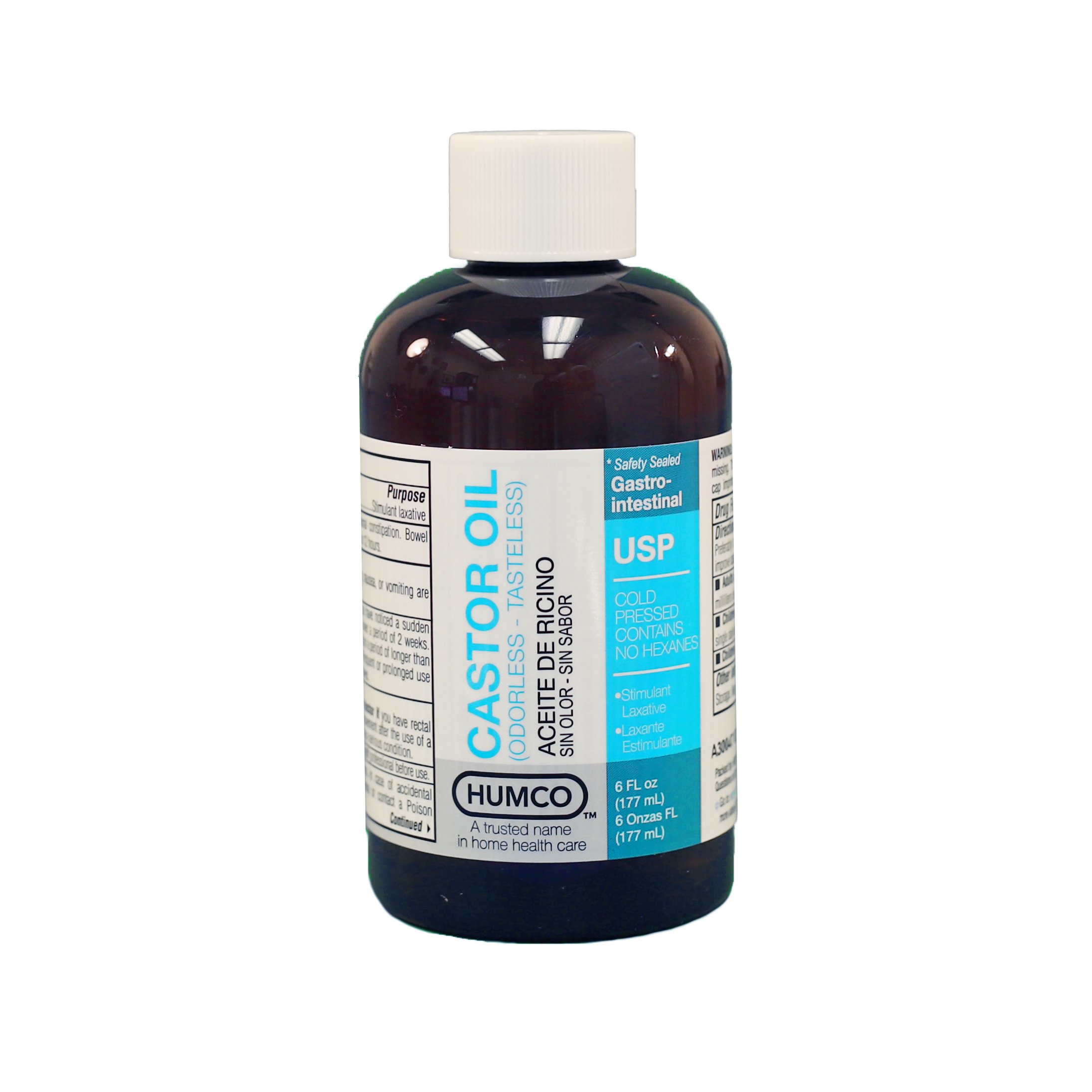 Castor Oil Odorless & Tasteless, USP